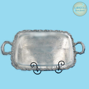 24 Inch Stainless Steel Catering Tray Rental Los Angeles