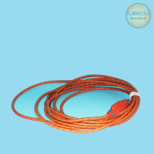25 Feet Long Orange Extension Cord Rental from Tlapazola Party Rentals South Bay, Gardena