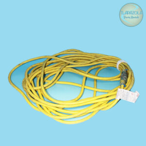 50 feet long yellow extension cord rental from Tlapazola Party Rentals in Gardena