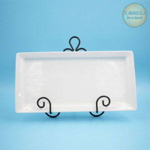 16 Inches by 8 Inches Porcelin Platter Rental from Tlapazola Party Rentals South Bay