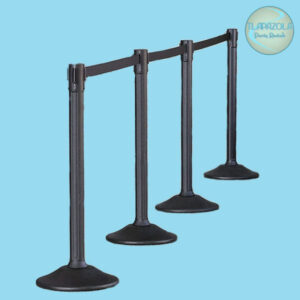 Black Stanchion Crowd Control rentals from Tlapazola in Los Angeles, South Bay