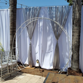 Pipe Drapes and Stages