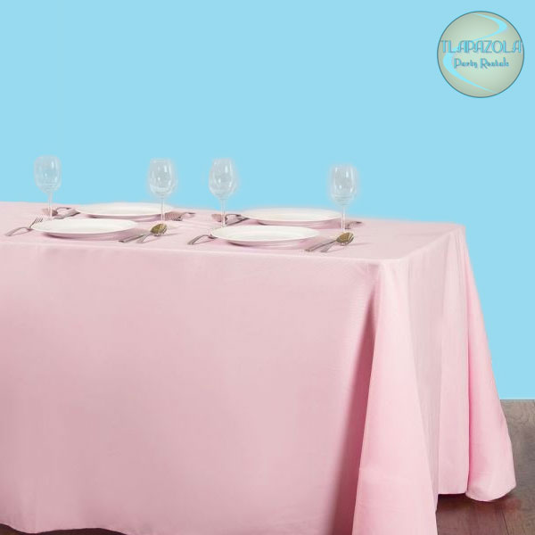 90 by 156 Inches Rectangular Polyester Tablecloth